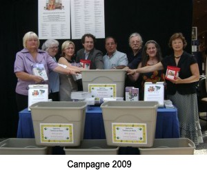 Campagne 2009